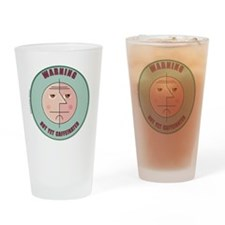RoundFace-Uncaffeinated-trbg-10x10_ Drinking Glass