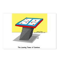 Leaning Tower of Pizza Postcards (Package of 8)