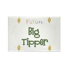 Future Big Tipper Rectangle Magnet