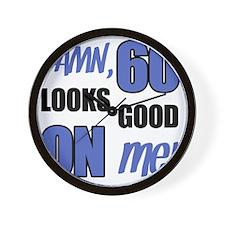 Funny 60th Birthday (Damn) Wall Clock
