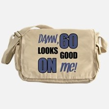 Funny 60th Birthday (Damn) Messenger Bag
