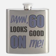 Funny 60th Birthday (Damn) Flask