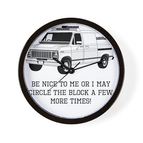 Be Nice Wall Clock