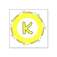 "kameronlogo Square Sticker 3"" x 3"""