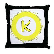 kameronlogo Throw Pillow