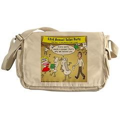 Party Pooper Messenger Bag