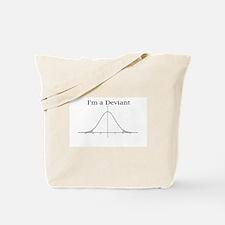 I'm a Deviant Tote Bag