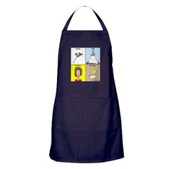 Parsley, Sage, Rosemary and Time Apron (dark)