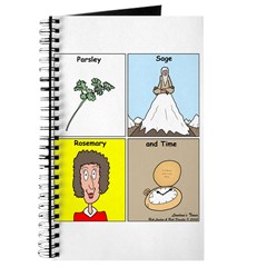 Parsley, Sage, Rosemary and Time Journal