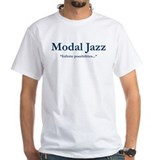 John coltrane Mens White T-shirts