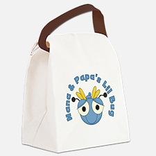 Nana and Papa's Lil Bug Canvas Lunch Bag