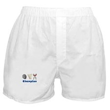 Rock Paper Scissor Champ Boxer Shorts