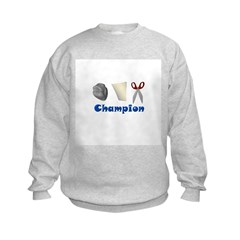Rock Paper Scissor Champ Sweatshirt