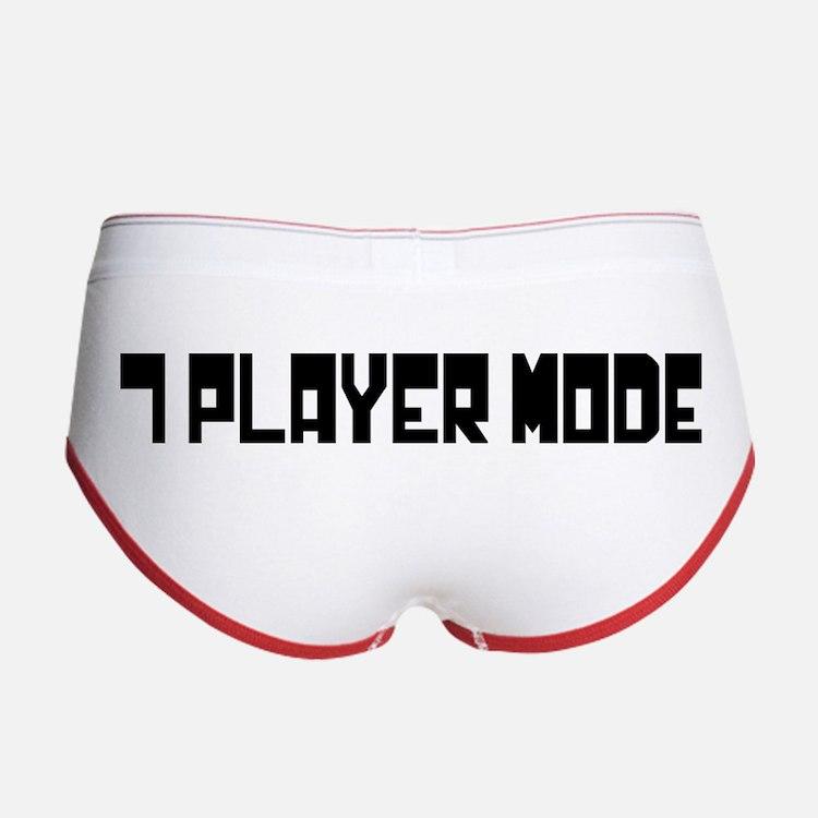 7 Player Mode Women's Boy Brief