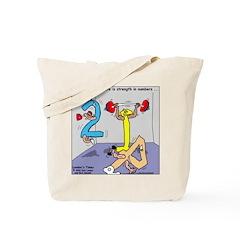Strength in Numbers Tote Bag