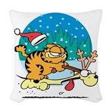 Garfield vintage Throw Pillows