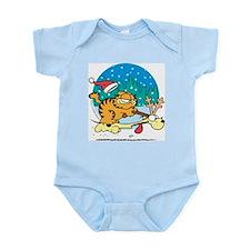 Odie Reindeer Infant Bodysuit