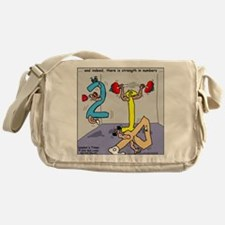 Strength in Numbers Messenger Bag