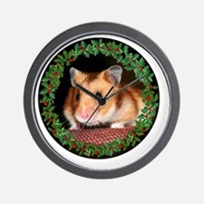 RoundHamster6 Wall Clock