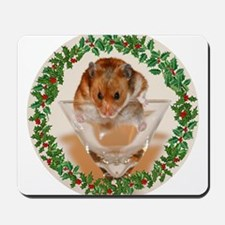 RoundHamster4 Mousepad