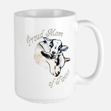 Pygmy Goat Twins Large Mug