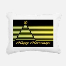 Hornetdays Tree Greeting Rectangular Canvas Pillow