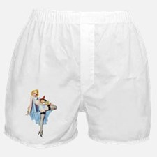 pinupornament_oval1 Boxer Shorts