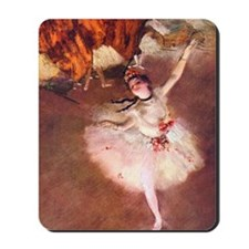 The Star (Dancer on the Stage) by Edgar  Mousepad