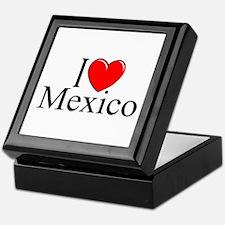 """""""I Love Mexico"""" Keepsake Box"""