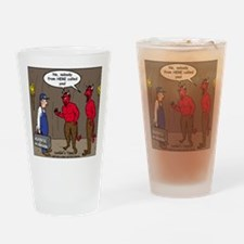 Hell AC Repair Drinking Glass
