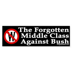 The Forgotten Middle Class Against Bush
