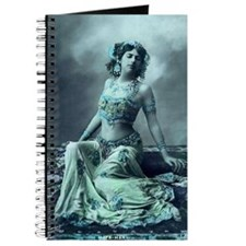 Vintage Bellydance Wall Calendar January Journal
