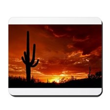 Saguaro Sunset-2 Mousepad