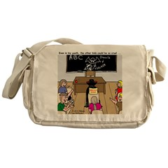 Draculas Childhood Messenger Bag