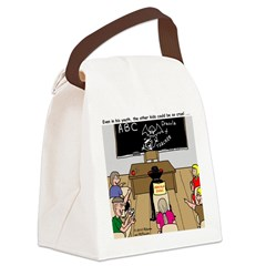 Draculas Childhood Canvas Lunch Bag