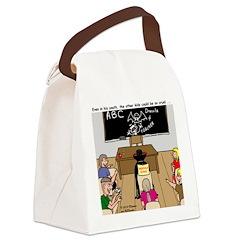 Draculas Childhood Canvas Lunch Bag