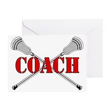 Sticks Coach Greeting Card