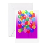 Balloons Greeting Cards (Pk of 10)