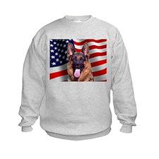 Patriotic German Shepherd Sweatshirt