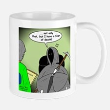 Death Afraid of Dying Mug