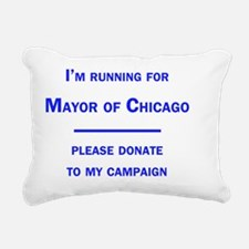 chicagomayor Rectangular Canvas Pillow