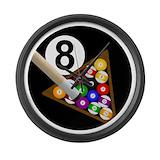 Billiards Wall Clocks
