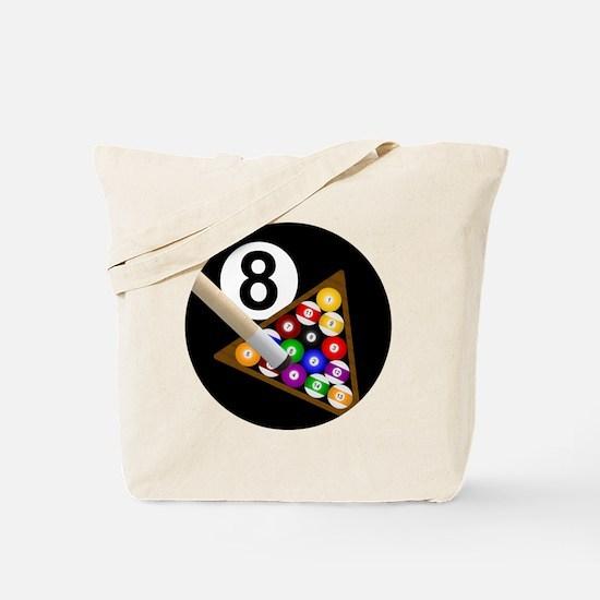 8ball_large Tote Bag