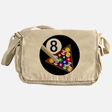 8ball_large Messenger Bag