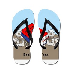 Books on Tape Flip Flops