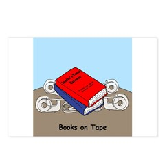 Books on Tape Postcards (Package of 8)
