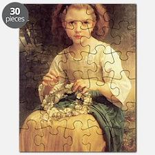 Bouguereaus Little Girls Art Calendar Puzzle