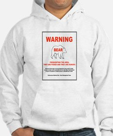 Pissed And Hungry Bear Danger Hoodie