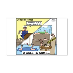 Call to Arms Wall Decal