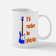 RatherBePlayingBass Mugs